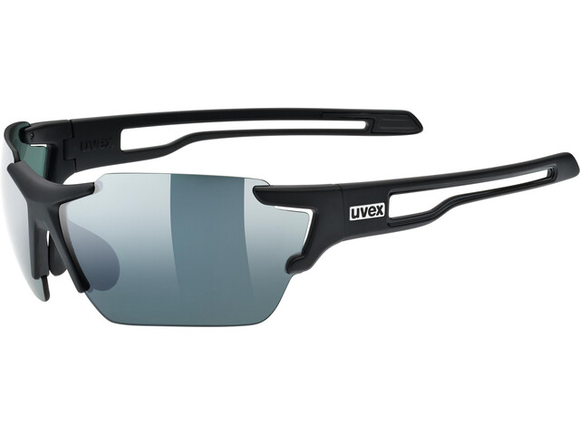 UVEX Sportstyle 803 Colorvision Okulary rowerowe, black matt/urban